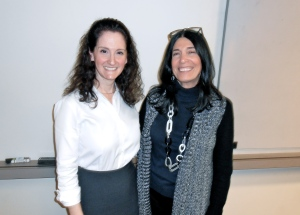 Elisa Eisenberg and Bev Amsterdam
