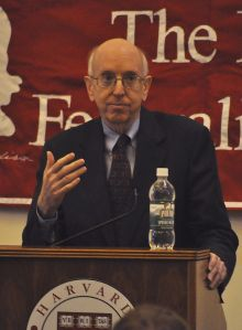 Judge Richard Posner at Harvard University - Courtesy of Chensiyuan